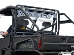 Super ATV Full Vented Rear Windshield for Full Size Polaris Ranger 500/700/800