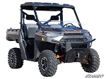 Super ATV Scratch Resistant Half Windshield for Polaris Ranger 1000 UTV's