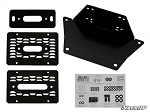 Super ATV Winch Mounting Plate for Polaris Ranger XP 1000