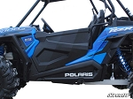 Super ATV Full Plastic Doors for Polaris RZR XP Turbo