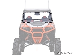 Super ATV Scratch Resistant Flip Down Windshield for Polaris General