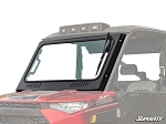 Super ATV Vented Full Glass Windshield for Polaris Ranger 1000 Models