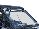 Super ATV Scratch Resistant Vented Full Windshield for Polaris RZR PRO XP