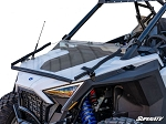 Super ATV Scratch Resistant Flip Down Windshield for Polaris PRO XP