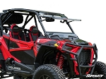 Super ATV Scratch Resistant Flip Windshield for Polaris RZR XP Turbo S