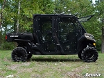 Super ATV Full Cab Enclosure Doors for Can-Am Defender Max