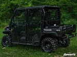 Super ATV Cab Enclosure Doors for Kawasaki Mule FX / FXT (4 Door Models)