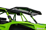 Super ATV Scratch Resistant Flip Windshield for Textron Wildcat XX
