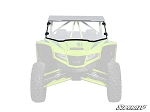 Super ATV Scratch Resistant Full Windshield for Textron Wildcat XX