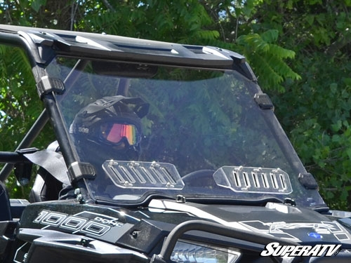 Polaris Rzr 1000 >> Super ATV Full Scratch Resistant Vented Windshield for Polaris RZR 900 / RZR XP 1000
