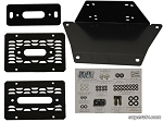Super ATV Winch Mounting Plate for Polaris Ranger XP 900 & XP 570