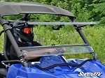 Super ATV Scratch Resistant Flip Windshield for Yamaha Wolverine