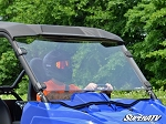Super ATV Scratch Resistant Full Windshield for Yamaha Wolverine