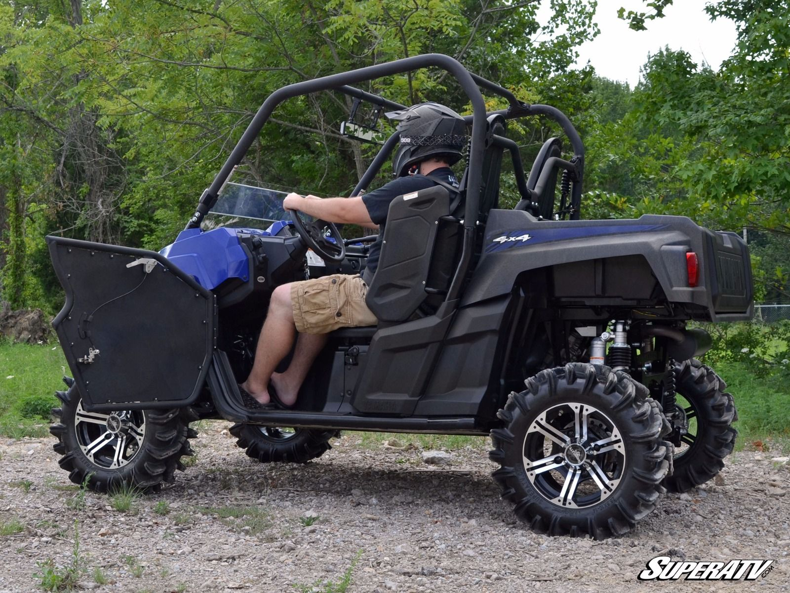 Super Atv Doors For Yamaha Wolverine Amp Viking
