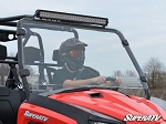 Super ATV Scratch Resistant Full Windshield for Arctic Cat HDX / Prowler