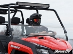 Super ATV Half Windshield for Arctic Cat HDX / Prowler