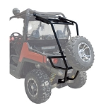 Tusk Rear Bumper with Cargo Rack and Spare Tire Carrier for Polaris RZR 800 Models