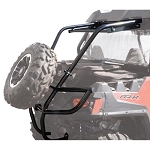 Tusk Rear Bumper with Cargo Rack and Spare Tire Carrier for Polaris RZR 570