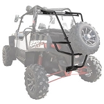 Tusk Rear Bumper with Cargo Rack and Spare Tire Carrier for Polaris RZR XP 900