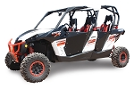 Dragonfire HiBoy Doors for Can-Am Maverick Max & Commander Max