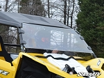 Super ATV Scratch Resistant Full Windshield for Yamaha YXZ 1000R