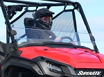 Super ATV Scratch Resistant Half Windshield for Honda Pioneer 1000