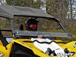 Super ATV Scratch Resistant Half Windshield for Yamaha YXZ
