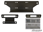 Super ATV Winch Mounting Plate for Kawasaki Teryx 750