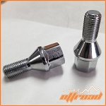 7/16-20 Tapered Lug Bolts, Fits many Kubota and John Deere UTV's, 17mm Hex