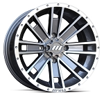 Motosport Alloys M28 Ambush Rims, 15 Inch