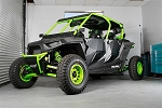 Pro Armor RZR XP 4 1000 Solar Black Stealth Doors