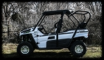 UTVMA Kawasaki Teryx 2014+ Back Seat and Roll Cage Kit