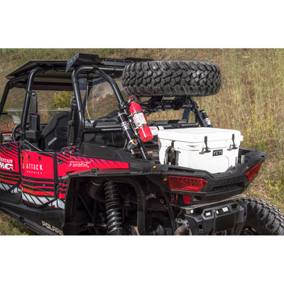 Tusk Spare Tire Carrier For Polaris Rzr 1000 Models