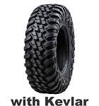 Tusk Kevlar Terrabite Radial Tires, DOT Approved