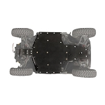 Tusk Quiet-Glide 3/8 inch Skid Plate for Polaris General 1000