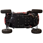 Tusk Quiet-Glide 3/8 inch Skid Plate for Polaris RZR XP Turbo S