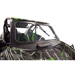 Tusk Folding Glass Windshield for Kawasaki Teryx KRX 1000