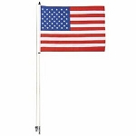 Tusk American Flag Whip w/ 6 Foot Pole