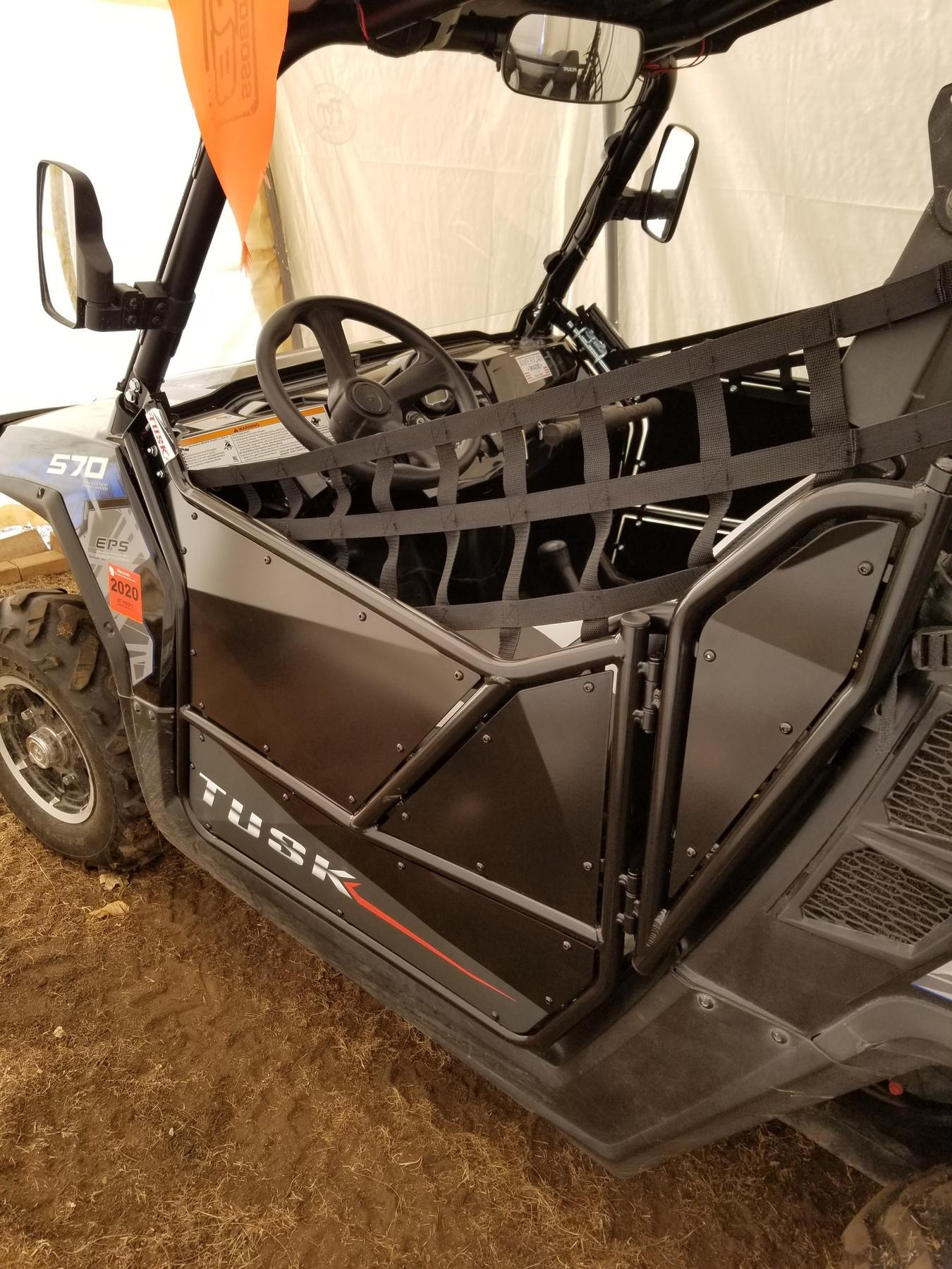 Tusk Aluminum Suicide Doors for Polaris RZR 800 / RZR 570 / RZR XP 900