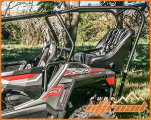 2015+ RZR 900 Back Seat Roll Cage Kit