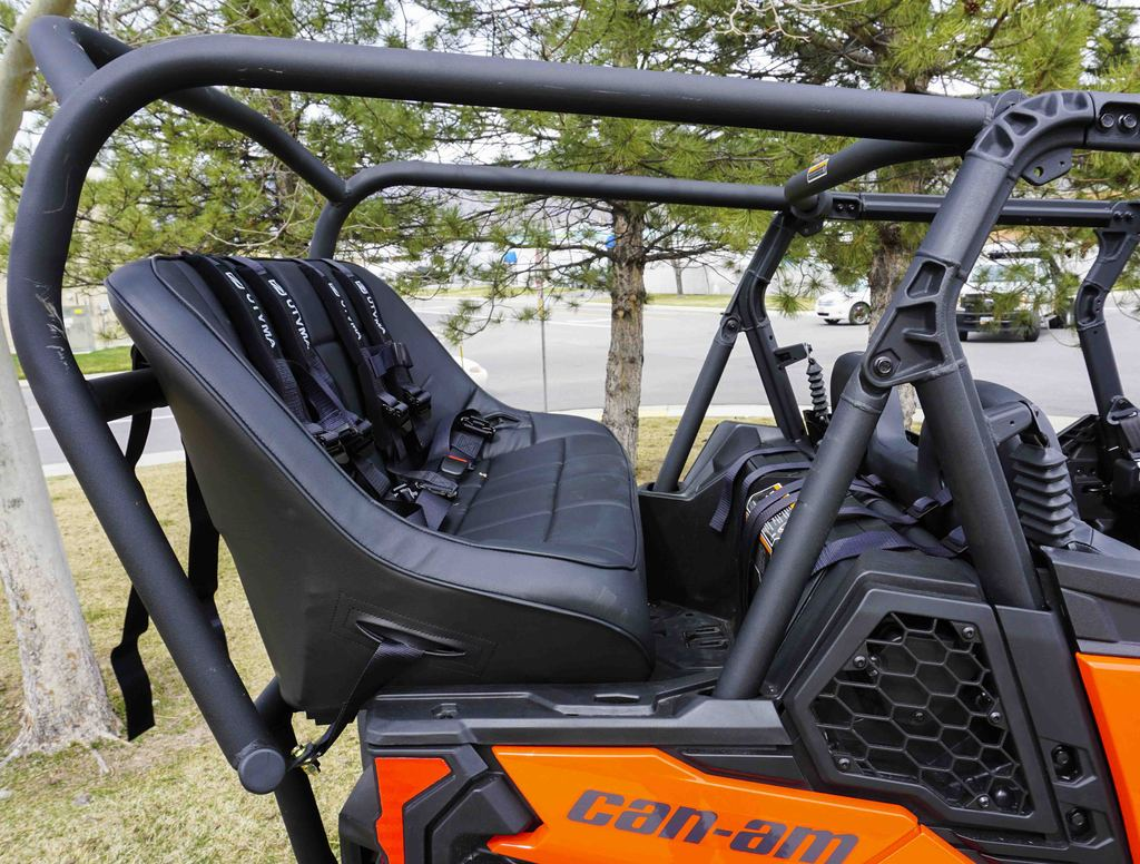 Groovy Utvma Back Seat And Roll Cage Kit For Can Am Maverick Sport Max Gmtry Best Dining Table And Chair Ideas Images Gmtryco
