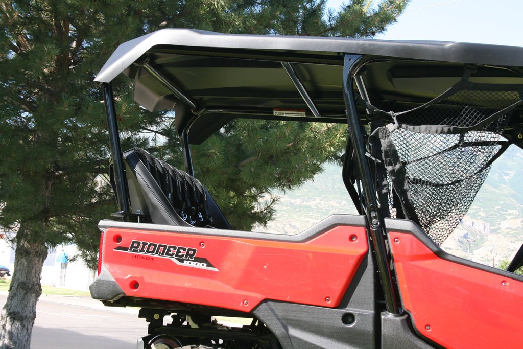 Utvma Back Seat And Roll Cage Kit For Honda Pioneer 1000