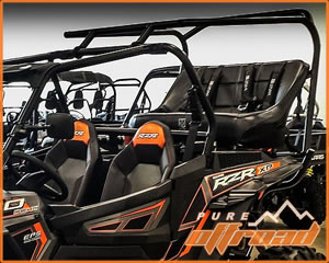 RZR 1000 Back Seat Roll Cage Kit
