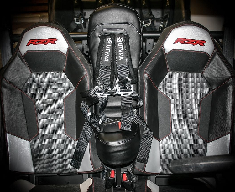 Polaris General 4 Seater >> UTVMA Front Bump Seat for Polaris RZR 1000 and 2015 RZR 900