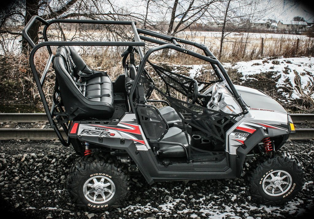 Utvma Back Seat And Roll Cage Kit For Polaris Rzr
