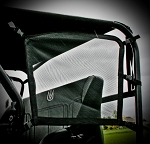 UTVMA Polaris RZR 800 & RZR XP 900 Side Nets for Back Seat Kits