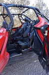 UTVMA Rear Bump Seat for Polaris RZR 4 PRO