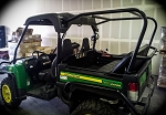 UTVMA Back Seat and Roll Cage Kit for John Deere Gator 825i