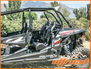 RZR 4 900 and RZR 4 1000 rear bench seat