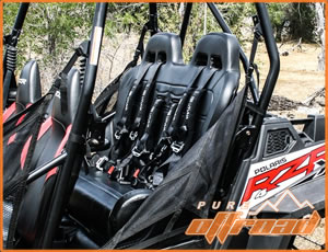 Rear Bench Seat for Polaris RZR 800 and XP 900